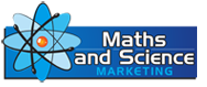 Maths & Science Marketing Sticky Logo